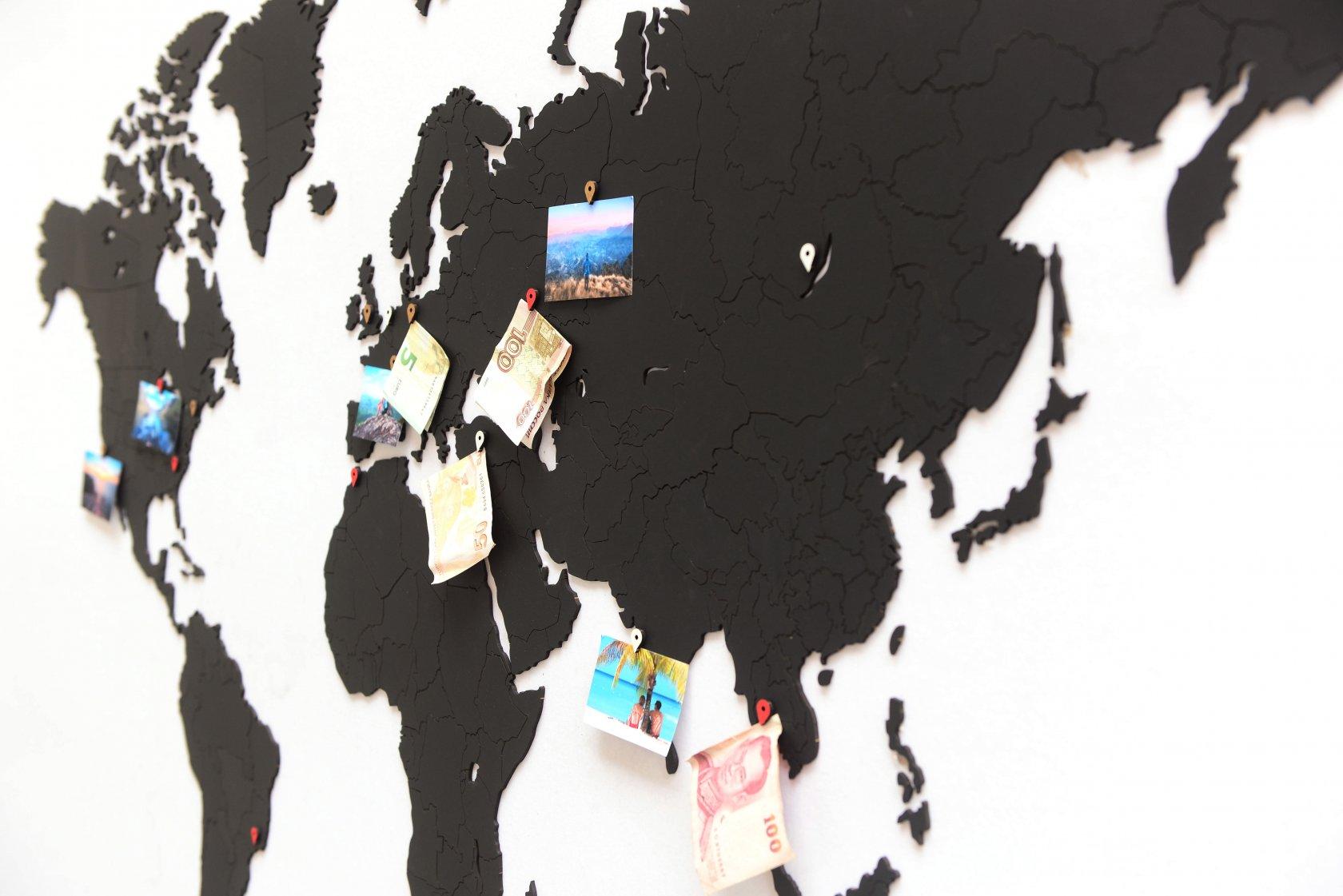 True Puzzle Black 150 x 90 см Mappuzzle