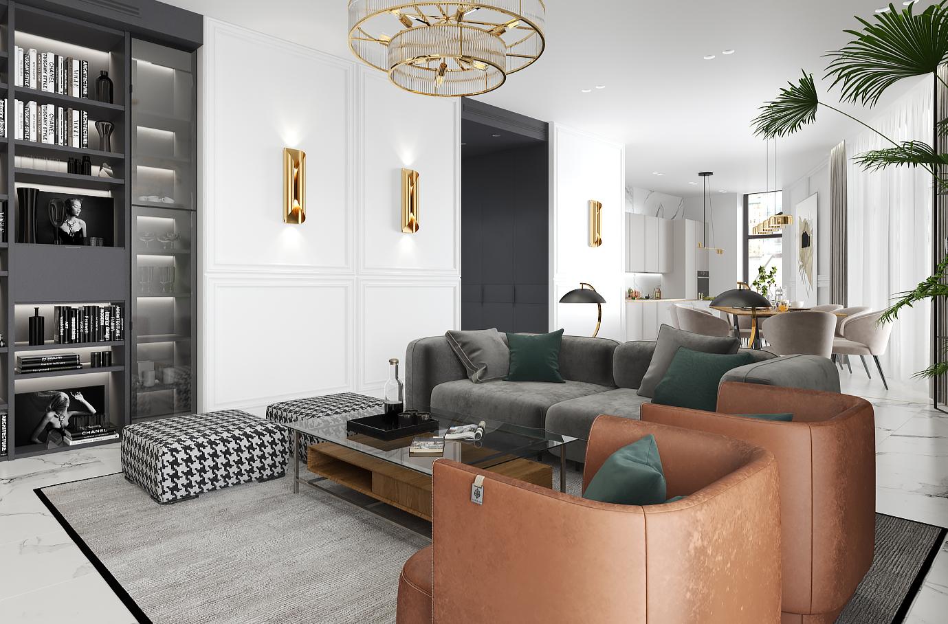 Проект: Young Man Apartment <br />Компанія: BURO 21
