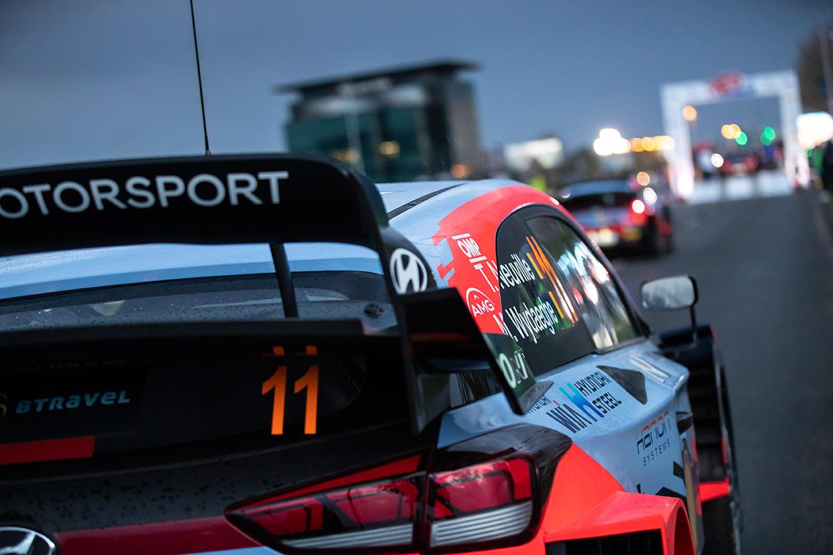 Тьерри Невилль и Мартейн Видаге, Hyundai i20 Coupe WRC, ралли Хорватия 2021