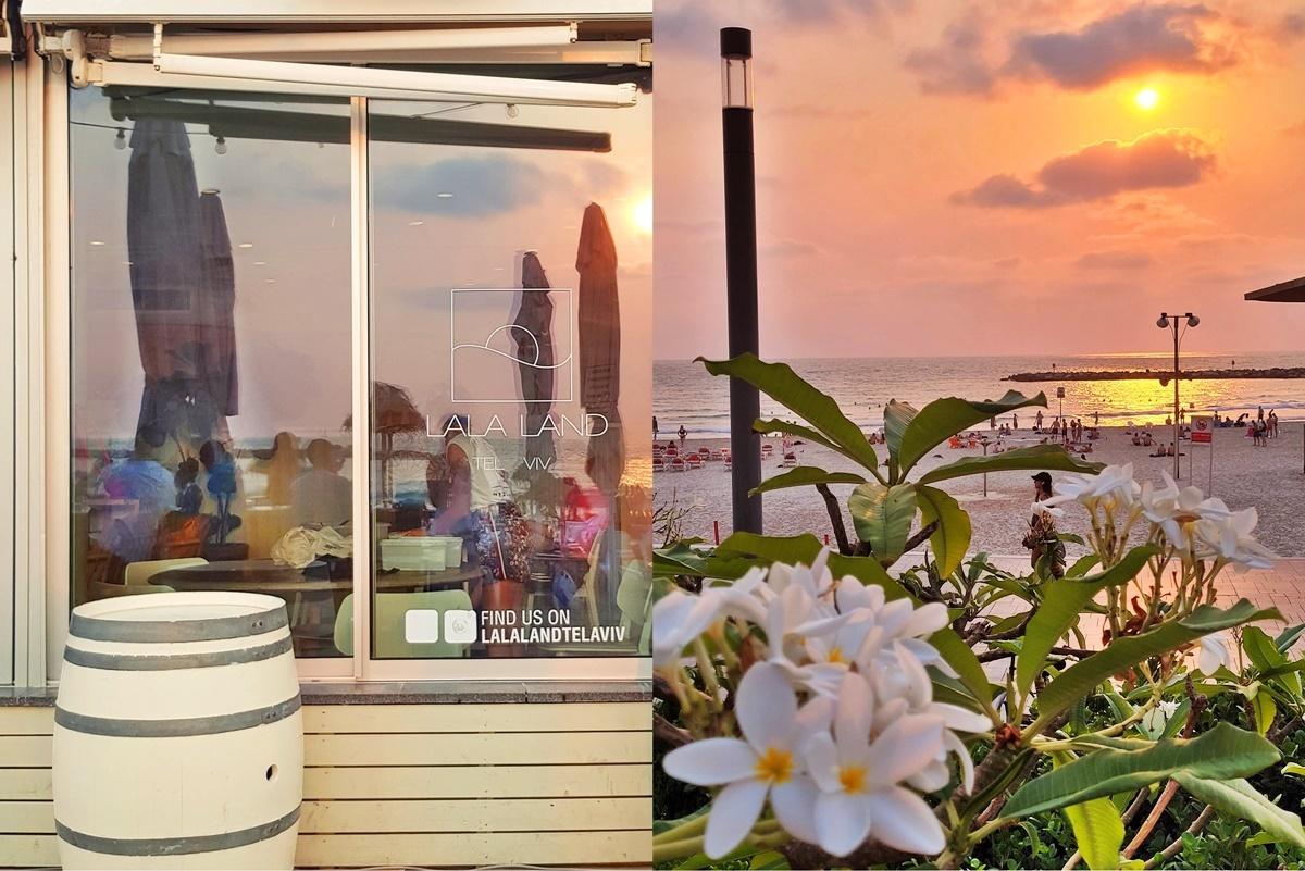 Ресторан Лала ленд, пляж Гордон Тель-Авив. Вкусный Израиль. Иля Антеби.