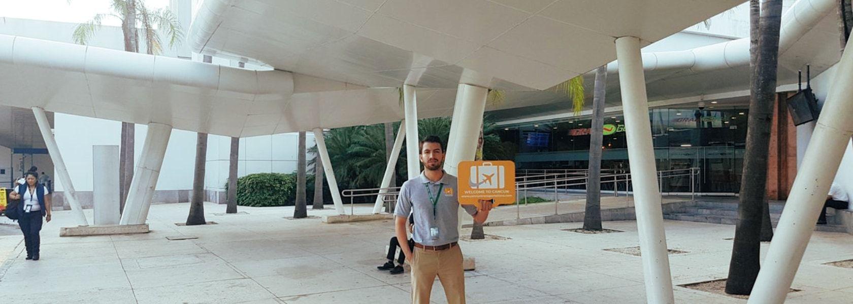 Такси в аэропорту Канкуна