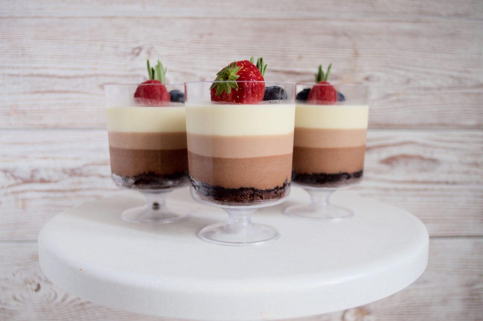 доску десерт в стаканчиках рецепт с фото очистить