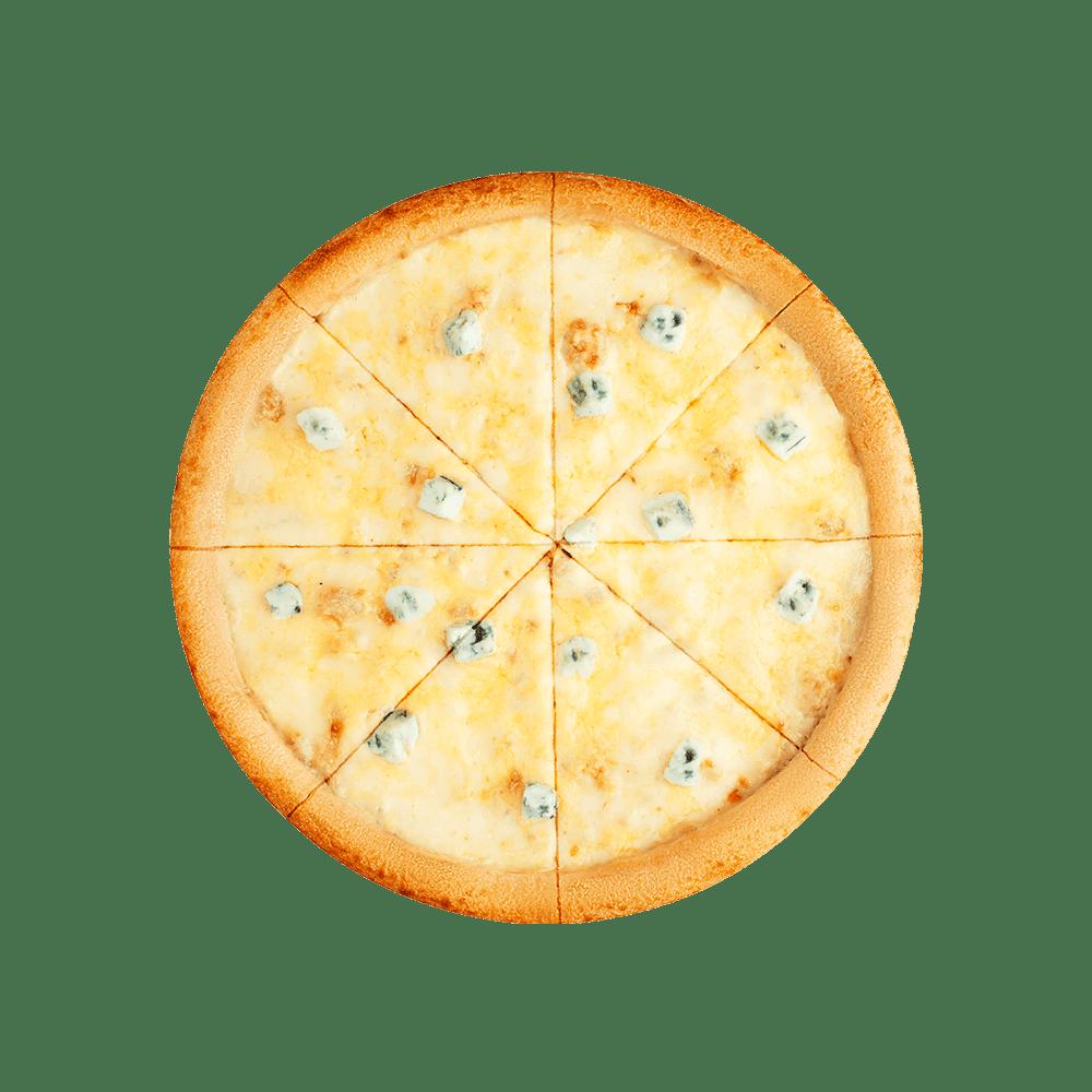 Замовляй 4 сири з безкоштовною доставкою додому в Тернополі. Піца для любителів сиру. Топ піца