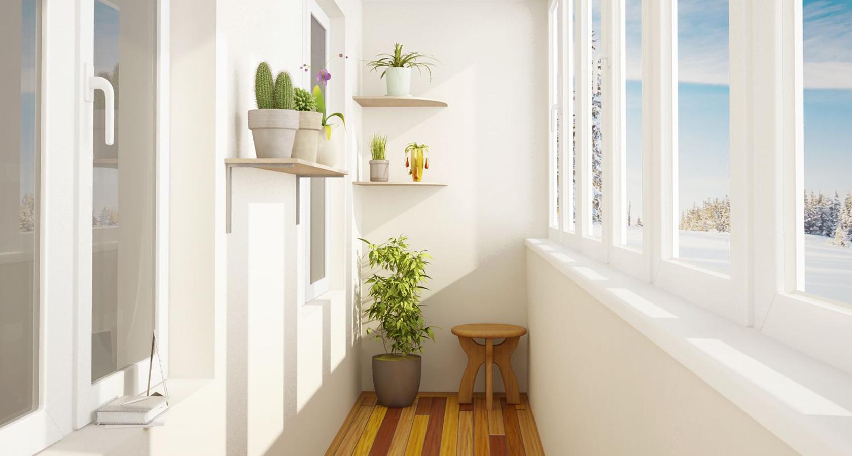 картинки балконов и лоджий внутри