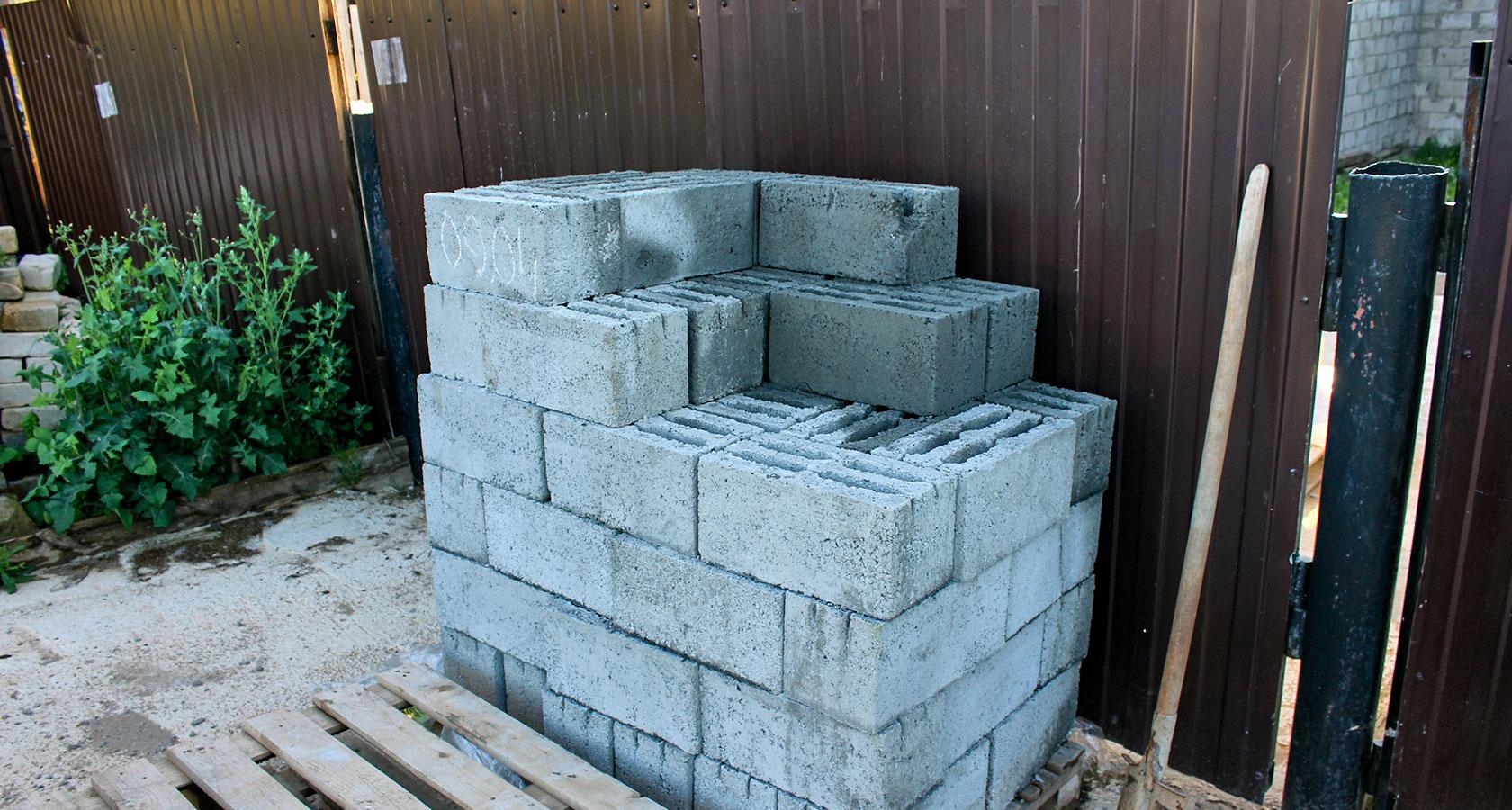 керамзитобетонные блоки для бани