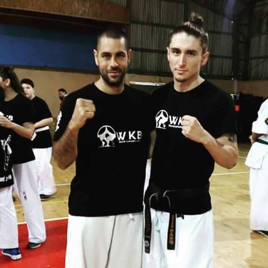 Nicolas Valdivia with Daniel Sanchez