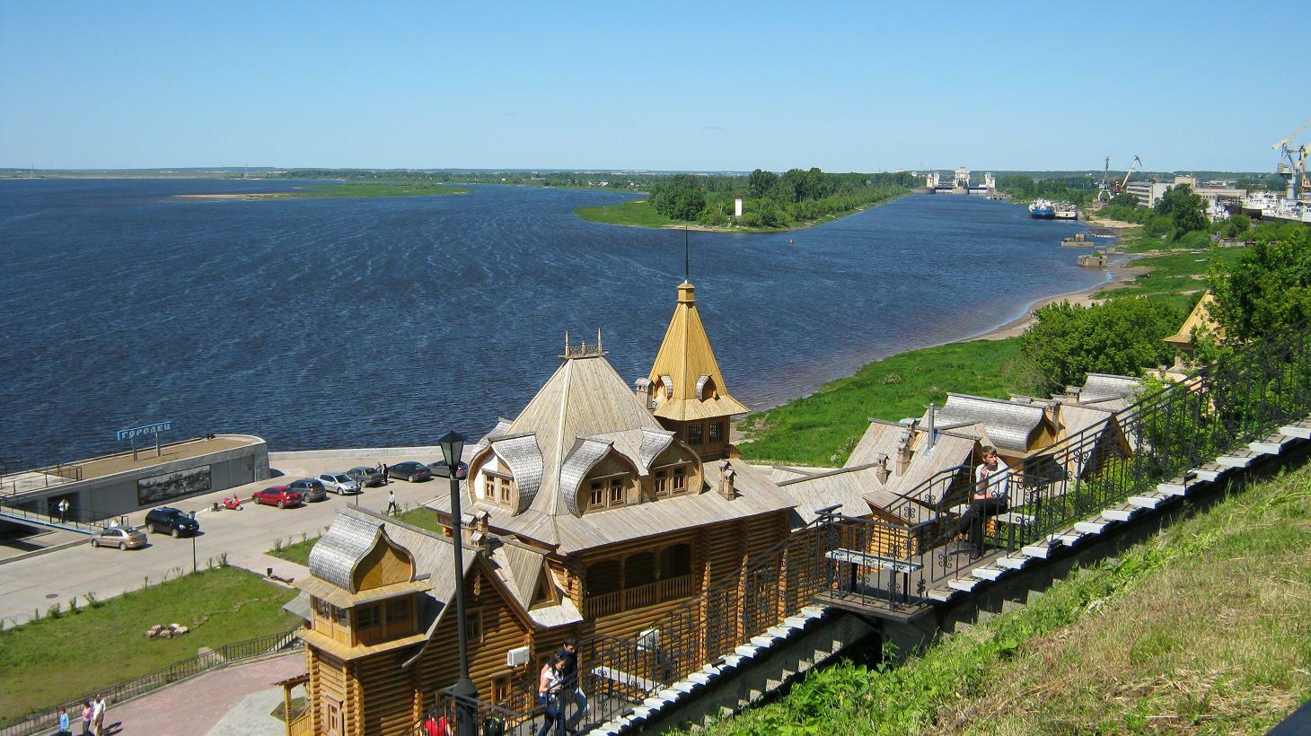 Городец нижегородская область фото города