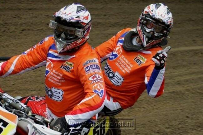Мотокросс Наций «коляски» и «квадроциклы» 2021: Команда Нидерландов