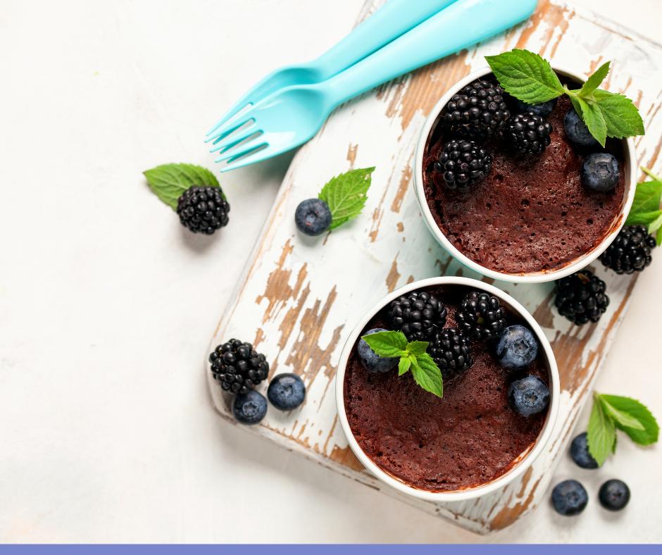 пошаговый рецепт десерта в микроволновке
