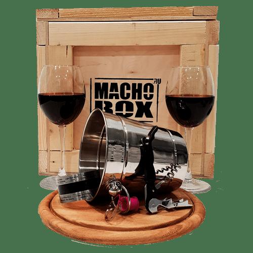 Набор бармена в подарок мужчине от Macho Box