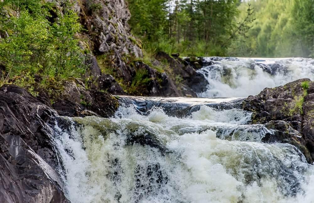 заповедник Кивач водопад