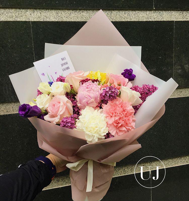 Цветов радуга, заказать цветы москва алматы недорого