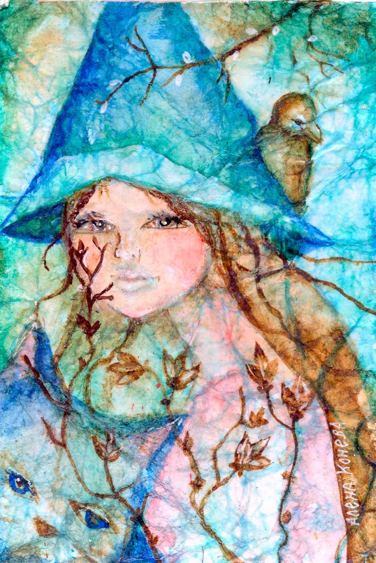 картина художницы Олёны Коневой
