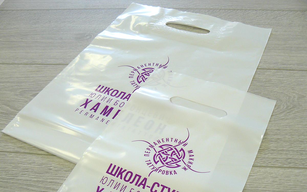 Пакеты с логотипом фото