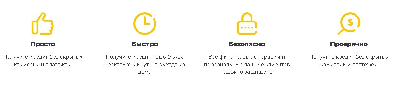 Преимущество Credit Kasa Украина