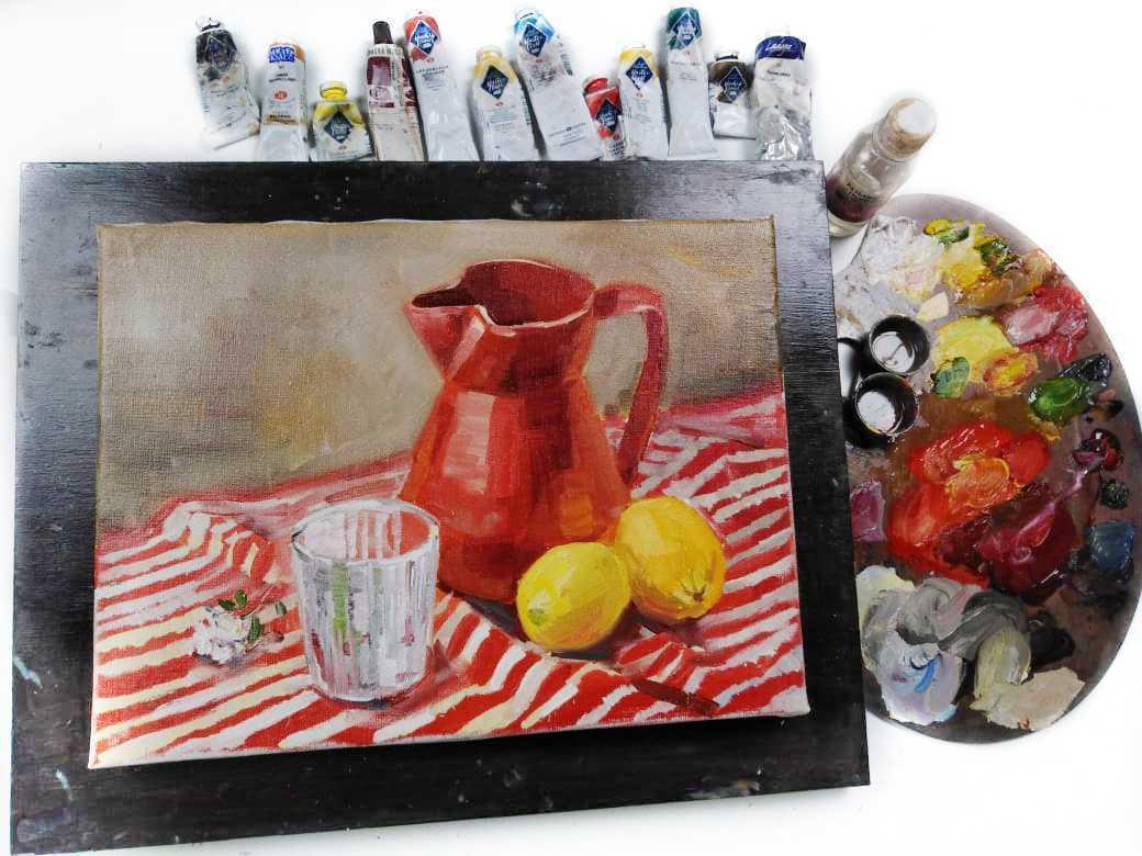 масляные краски для живописи купить
