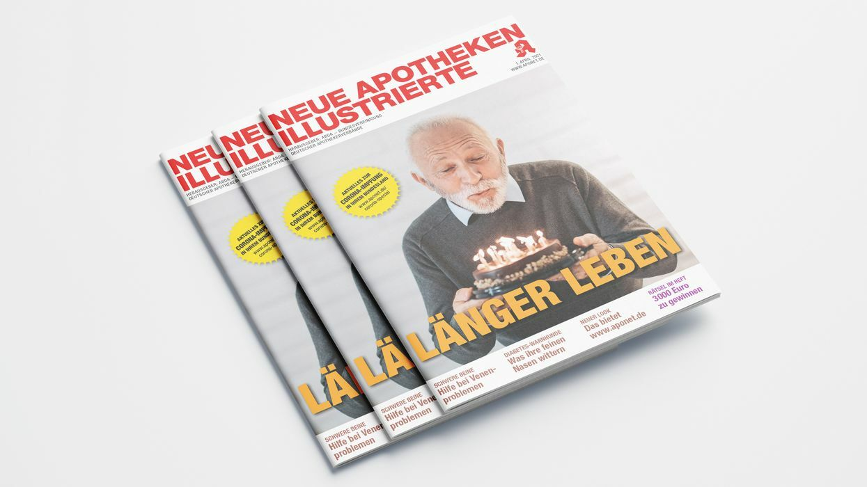 3 Ausgaben der Apotheken Illustrierten