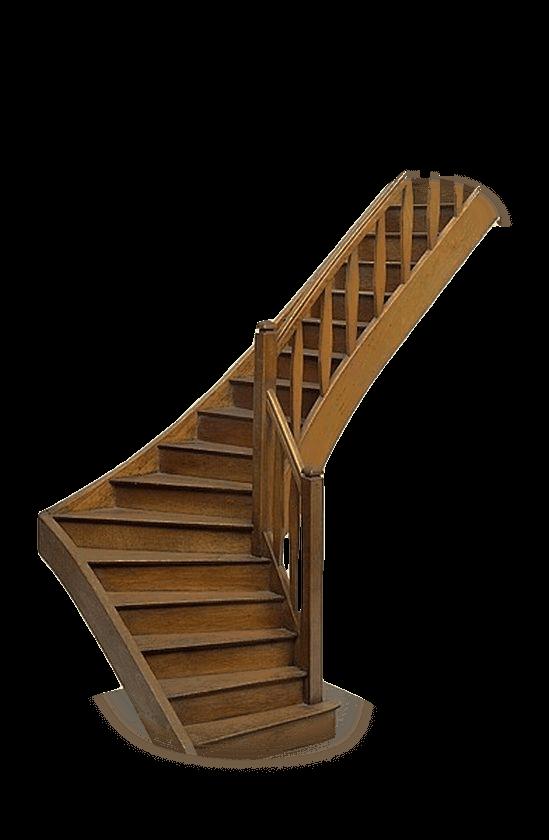 деревянная лестница этаж