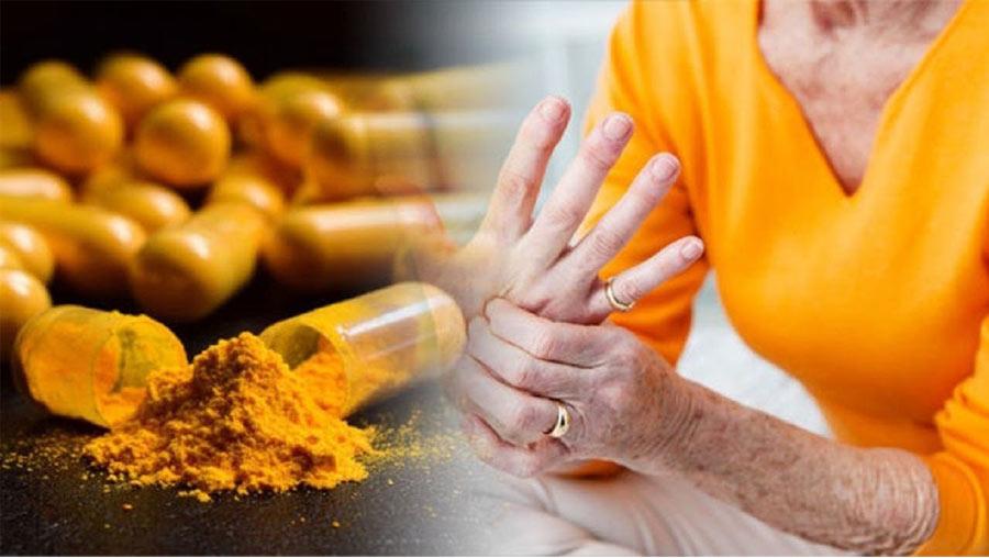 Куркуминът като хранителна добавка може да облекчи болката в ставите при артрит.