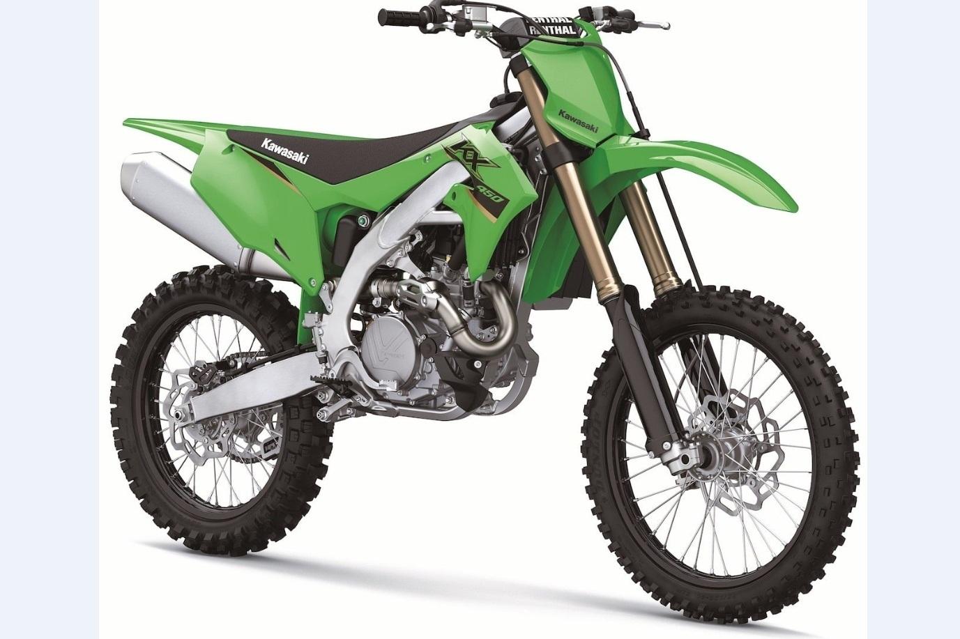 Кроссовые мотоциклы KAWASAKI 2022 года
