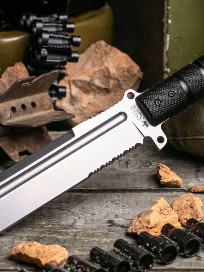 нож Survivalist Z Dural, ножи выживания, мачете, Кизляр Суприм, Kizlyar Supreme, производство и продажа ножей Россия