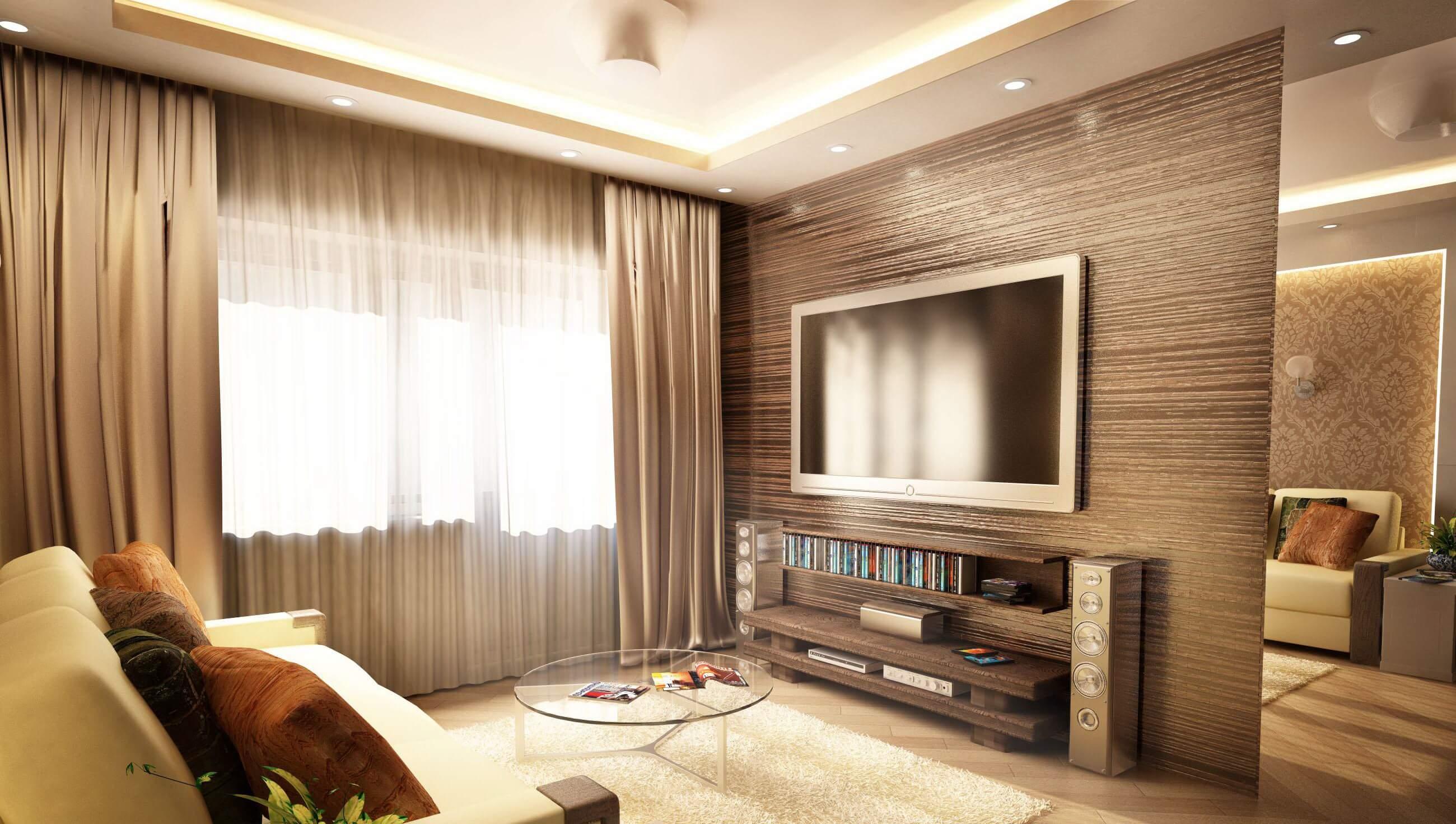 можно ремонт квартир в картинках зала работе