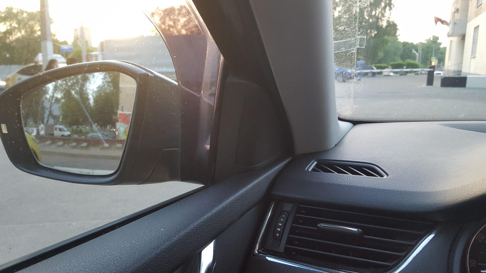 уголки зеркал шкода октиавия а7