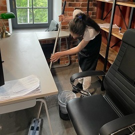 Поддерживающая уборка офиса
