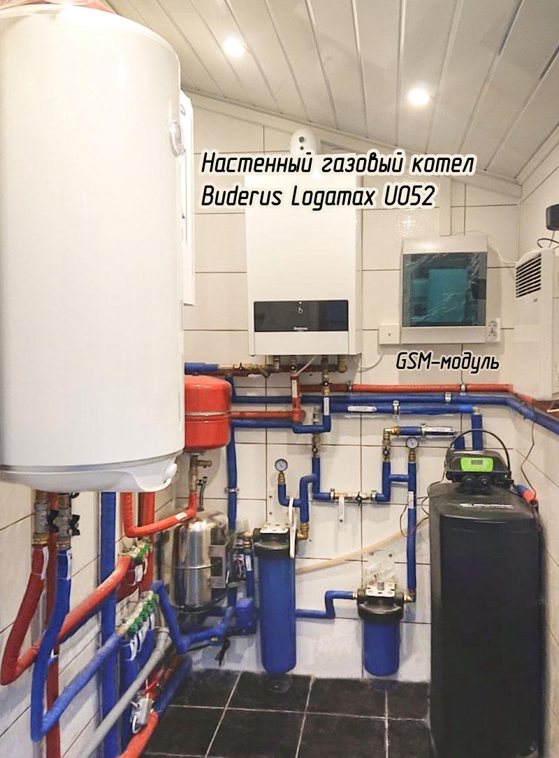 GSM-модуль для газовой котельной в доме
