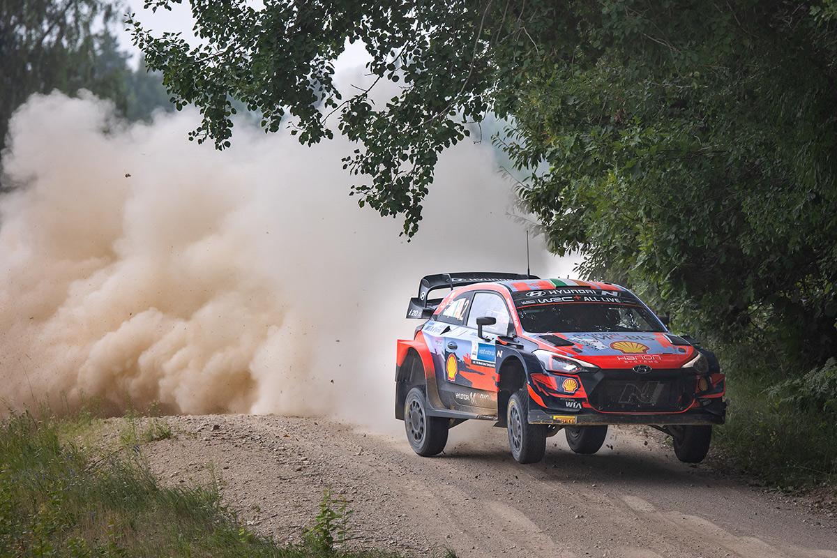 Крейг Брин и Пол Нейгл, Hyundai i20 Coupe WRC, ралли Эстония 2021