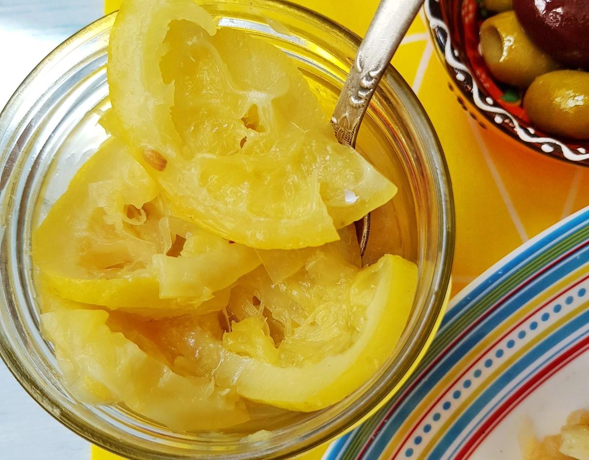 Квашеные лимоны для салата по-тунисски. Вкусный Израиль.