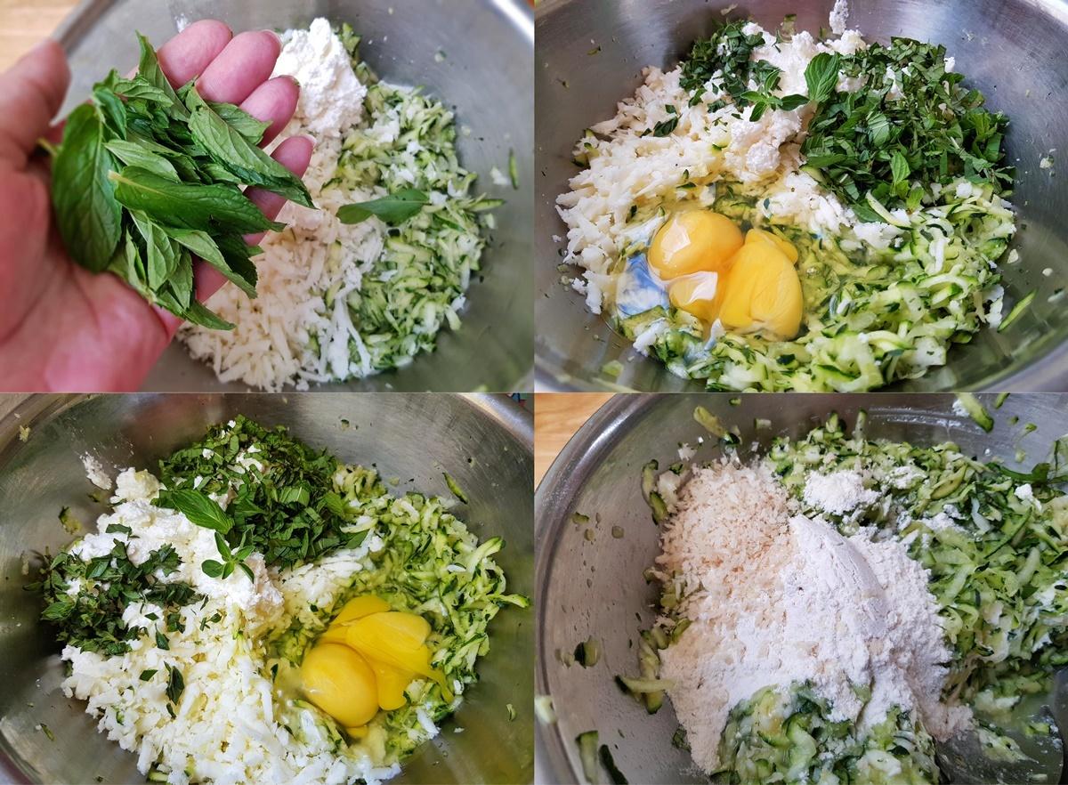 Рецепт - оладьи из кабачков с сыром. Блог Вкусный Израиль.