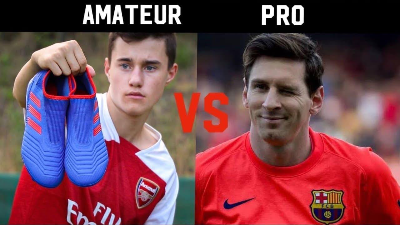 Professionals vs amateurs