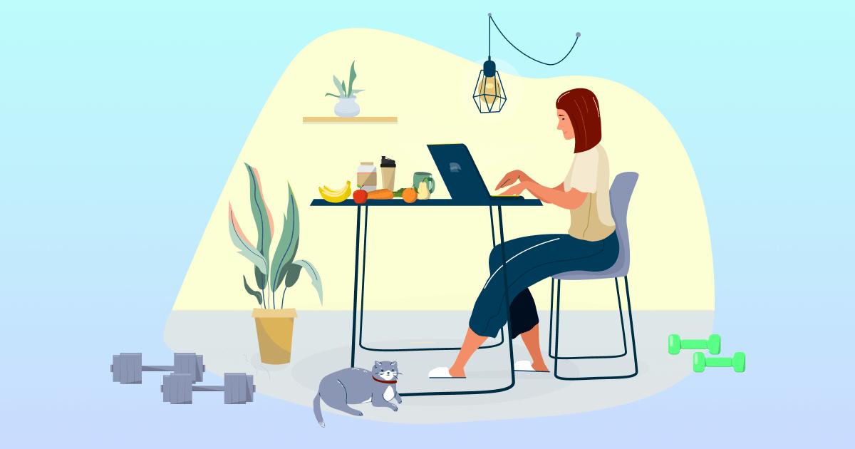 Онлайн собеседование в домашних условиях