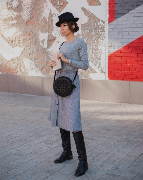 Женственная юбка-миди А-силуэта купить в петербурге