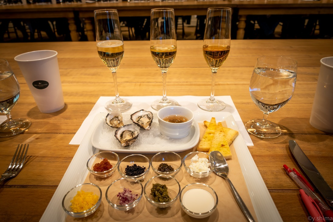 Trying out various styles of sparkling wine to match with each ingredient, spice, and food, etc.