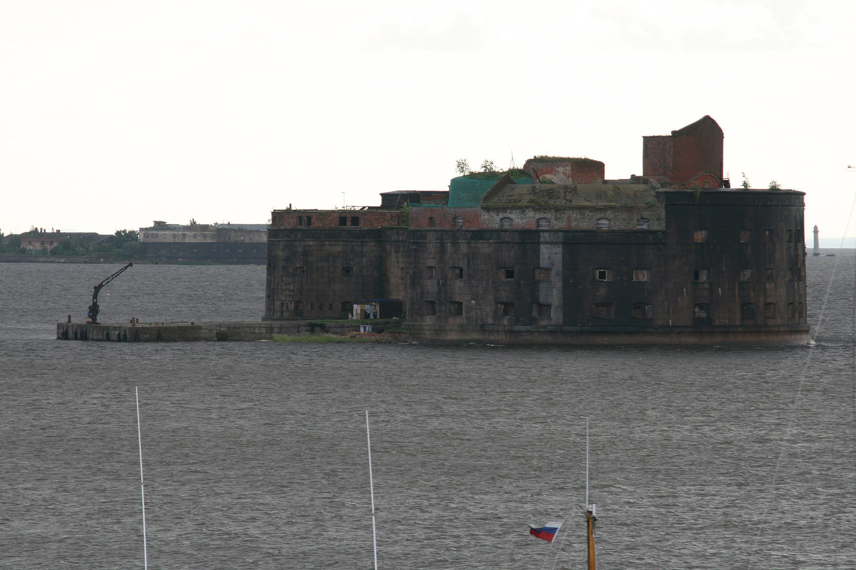 Чумной форт, Кронштадт
