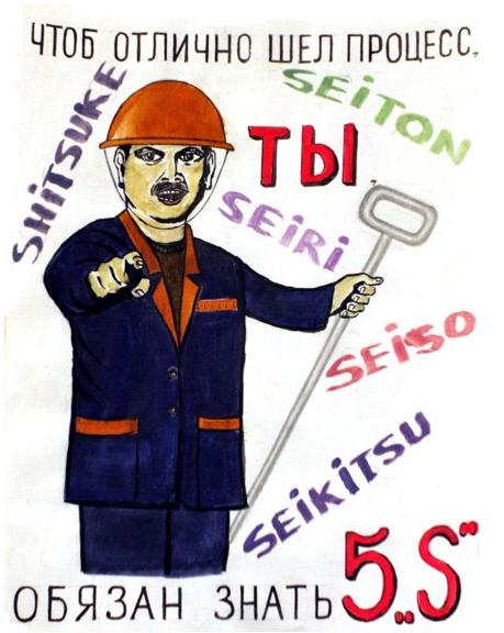 5S, Бережливое производство