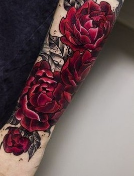 c06bf3aa4ae01 25 Most Stunning Flower Tattoos On The Internet Right Now