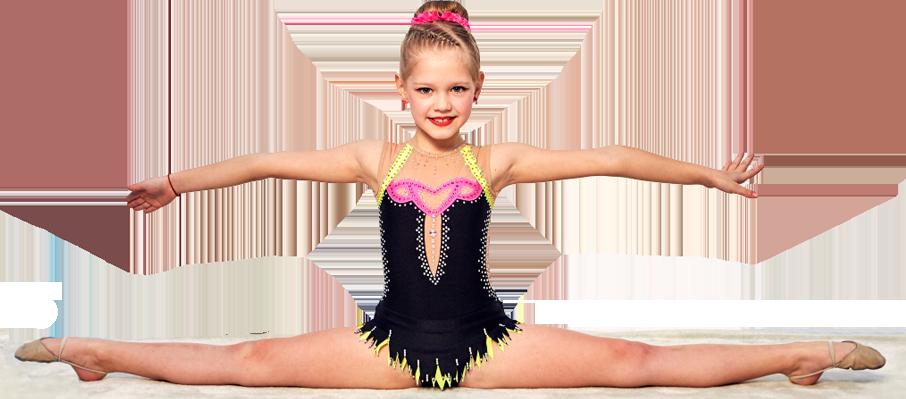 Художественная гимнастика - поперечный шпагат