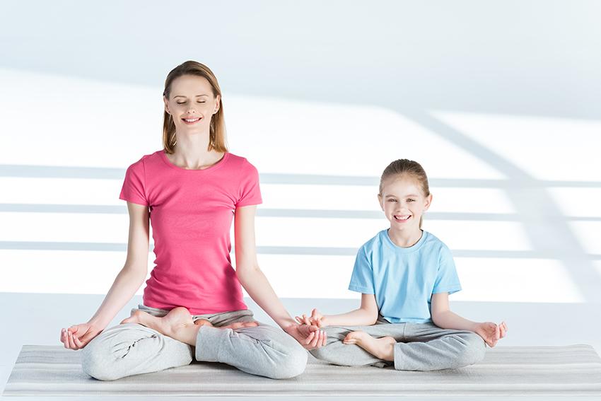 Студия йоги для подростков