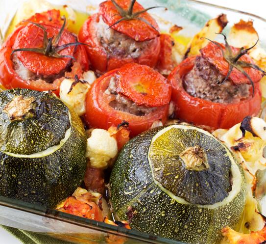 Пълнени зеленчуци Баланс Krina