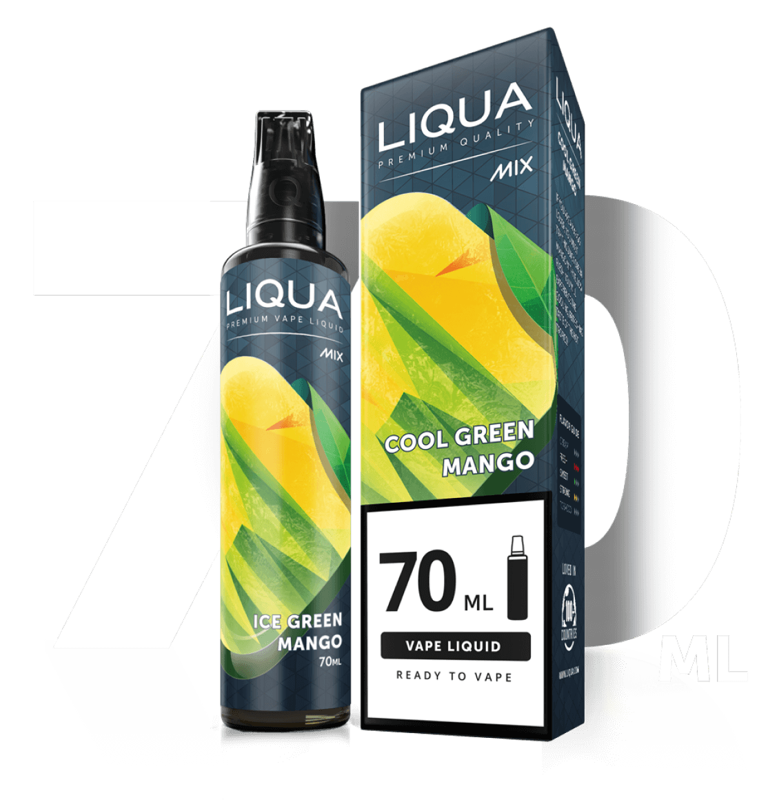 liqua eliquid 70ml