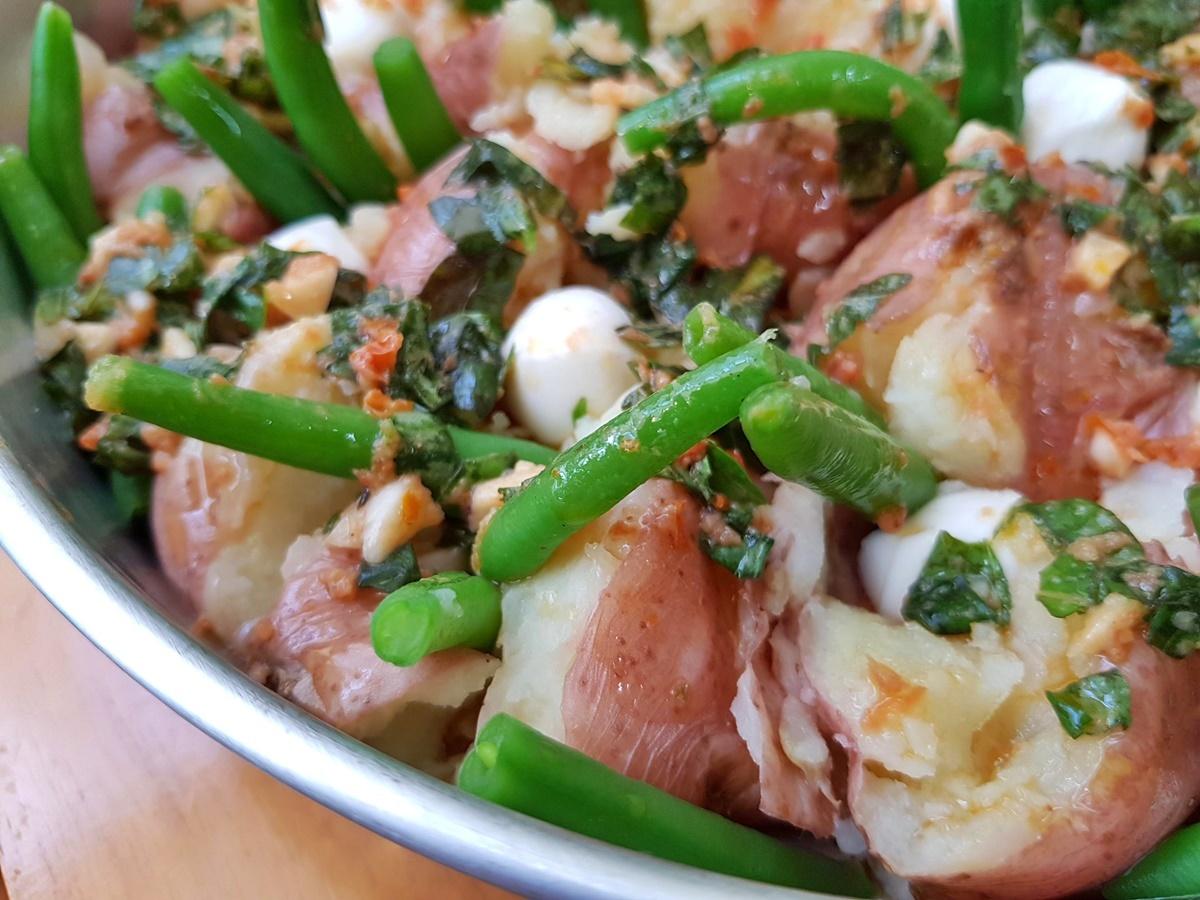Давленый картофель. Подробный рецепт с фото. Израильская кухня.