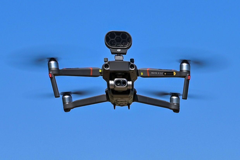 DJI, Mavic, Enterprise, Dual, дрон, квадрокоптер, громкоговоритель, динамик