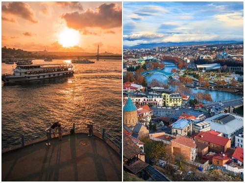 Стамбул и Тбилиси в ноябре