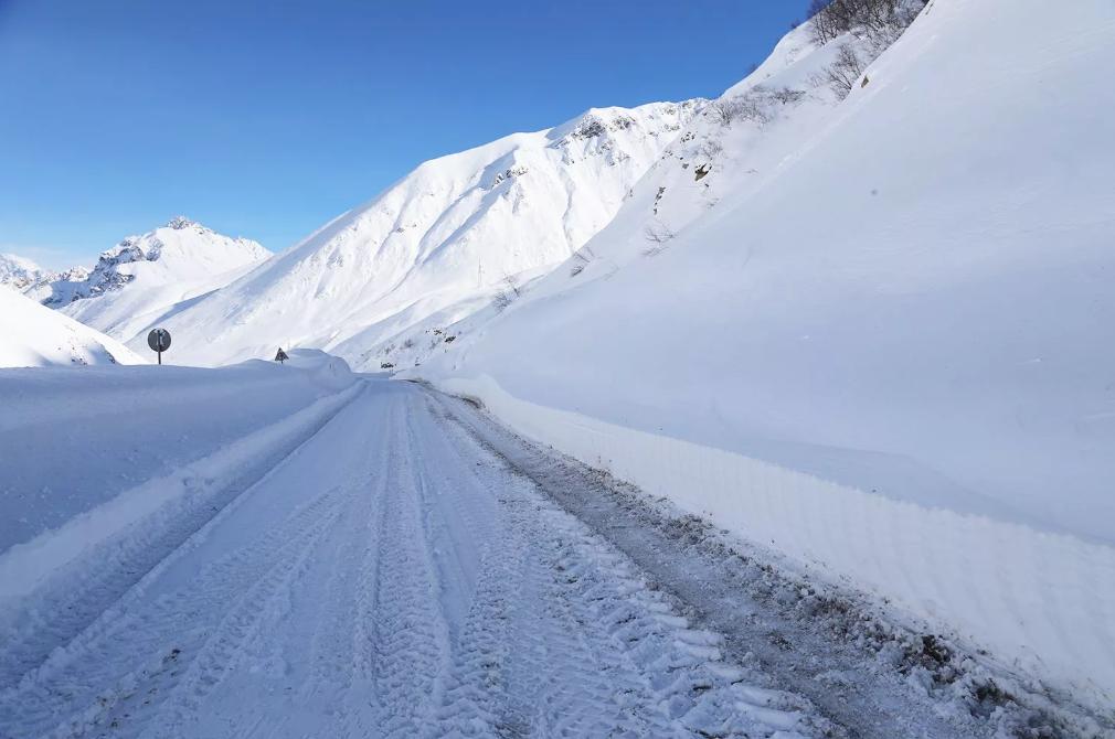 Военно-грузинская дорога и Крестовый перевал