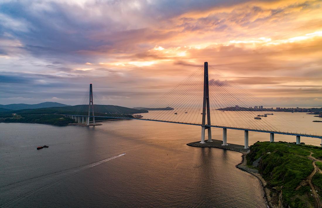 фото и картинки нашего города владивостока мосты тех