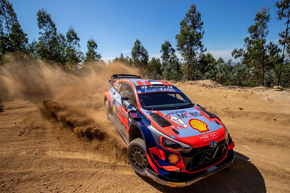 Отт Тянак и Мартин Ярвеоя, Hyundai i20 Coupe WRC, ралли Португалия 2021