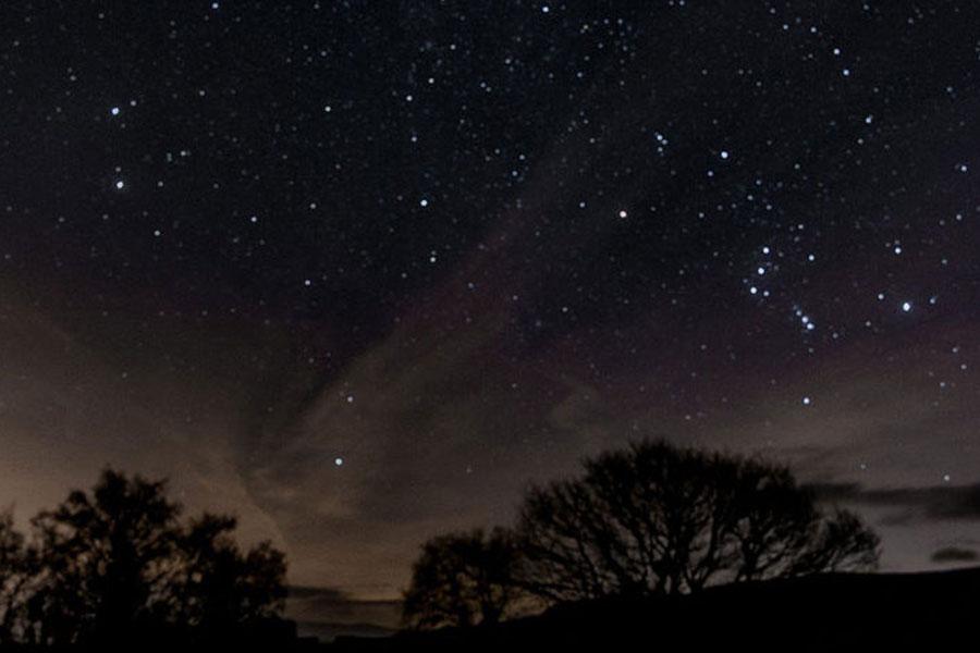 Night in Brecon Beacons - Dark Sky Wales